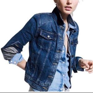 J.crew classic indigo denim jean jacket